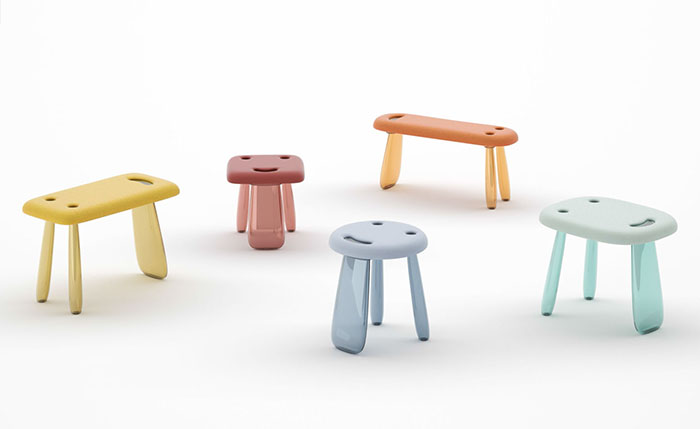 kartell-kids-collection -nendo-seats