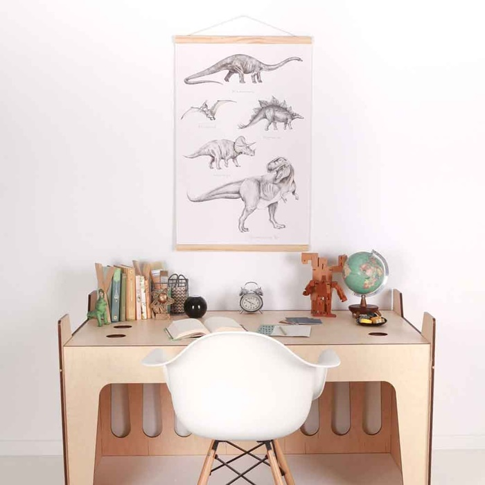 love-mae-canvas-wall-hanging-dinosaurs