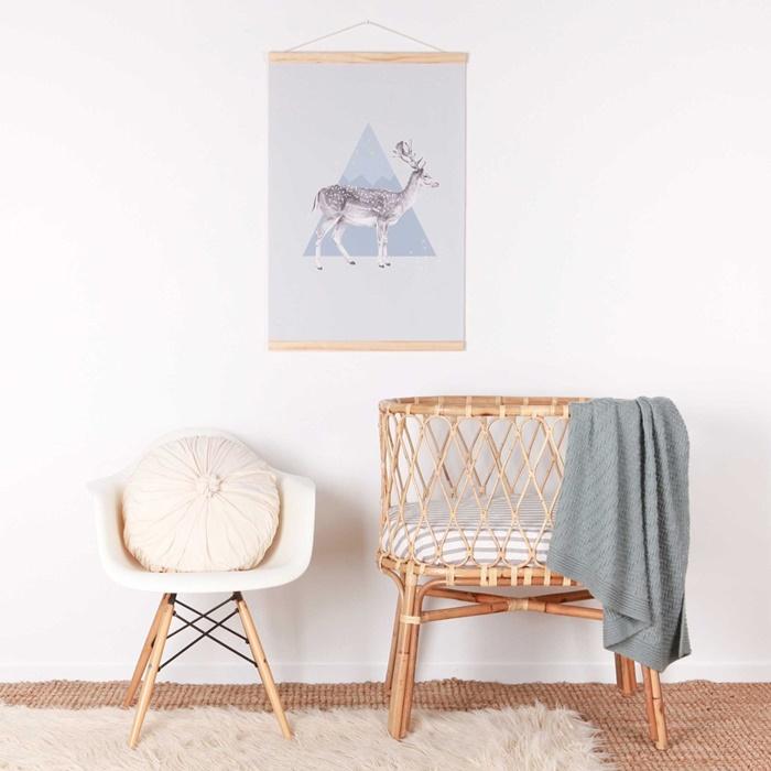 Love mae canvas wall hanging