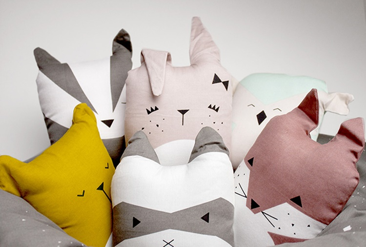 Fabelab Animal Cushions Ninou