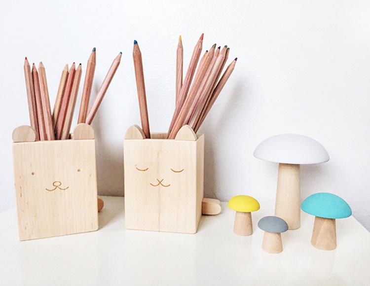 Ninou - Briki Vroom Vroom Pencil Holders