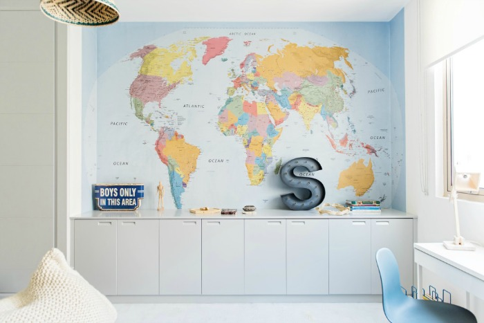 boys-kids-room-wold-map