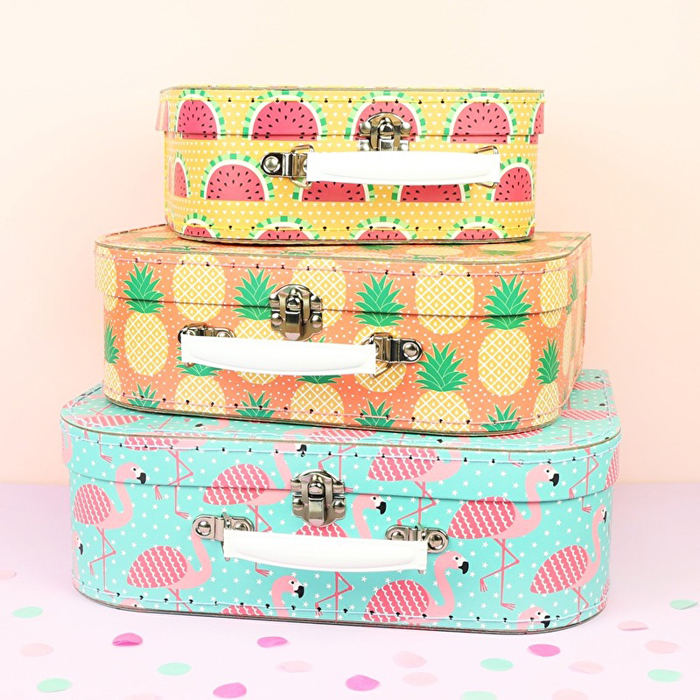 'Tropical Summer' Suitcase Set, available at Kids Boetiek