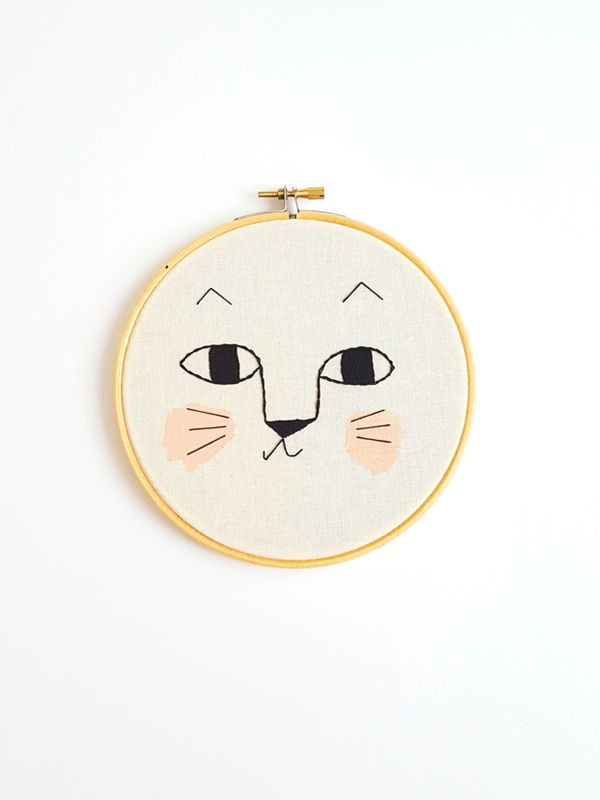 Aro, Embroidery for Kids