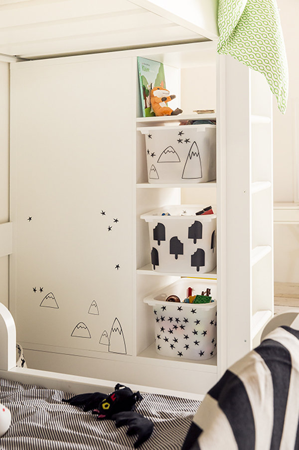 Ikea Shared Kids Room ikea's inspiration: amazing shared room - petit & small