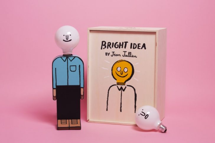 'Bright Idea' – The Amazing New Lamp by Jean Jullien for Case Studyo