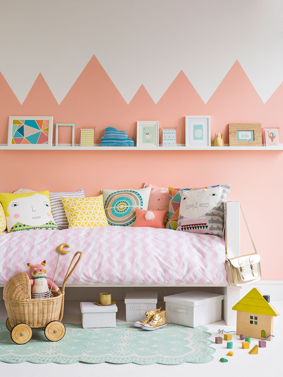 Refresh your walls with just a pot of paint petit small Kids room wall painting design