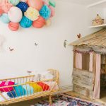 Rustic Playhouse in the Kids' Room