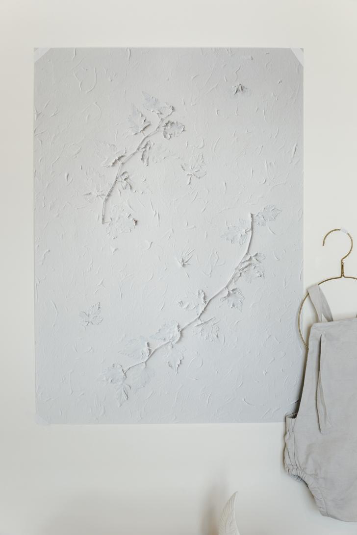 Pure White print