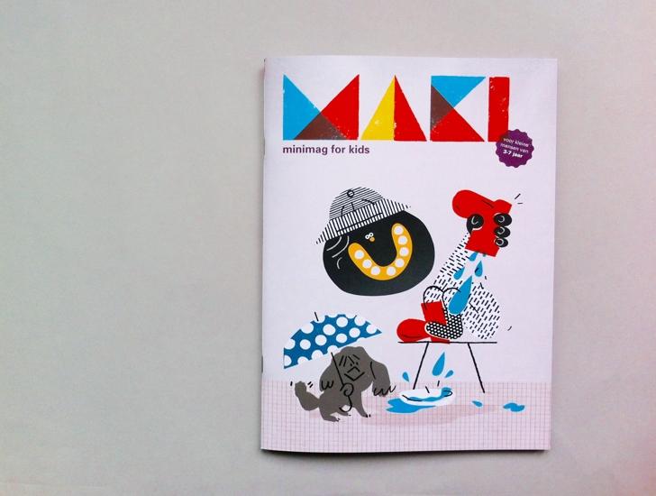 MAKI minimag 01_Cover Ola Niepsuj