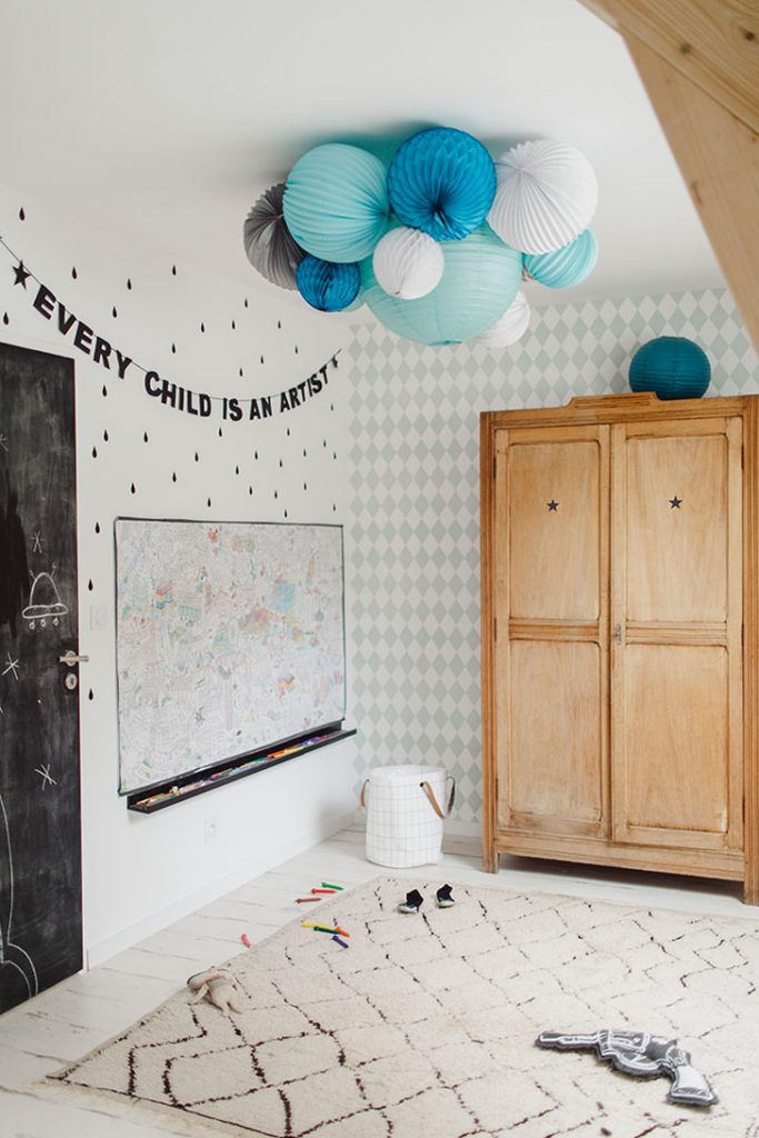 Blue Room For Kids