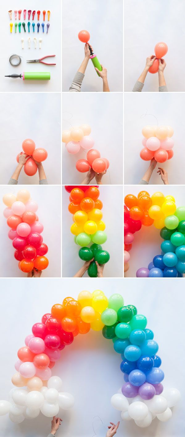 7 Ideas For Organising The Perfect Balloon And Pompon
