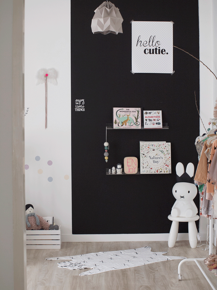 A Whimsical Toddler Girl's Room