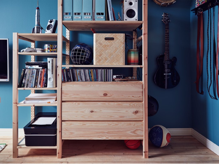The perfect teen 39 s room by ikea petit small for Coed bedroom ideas