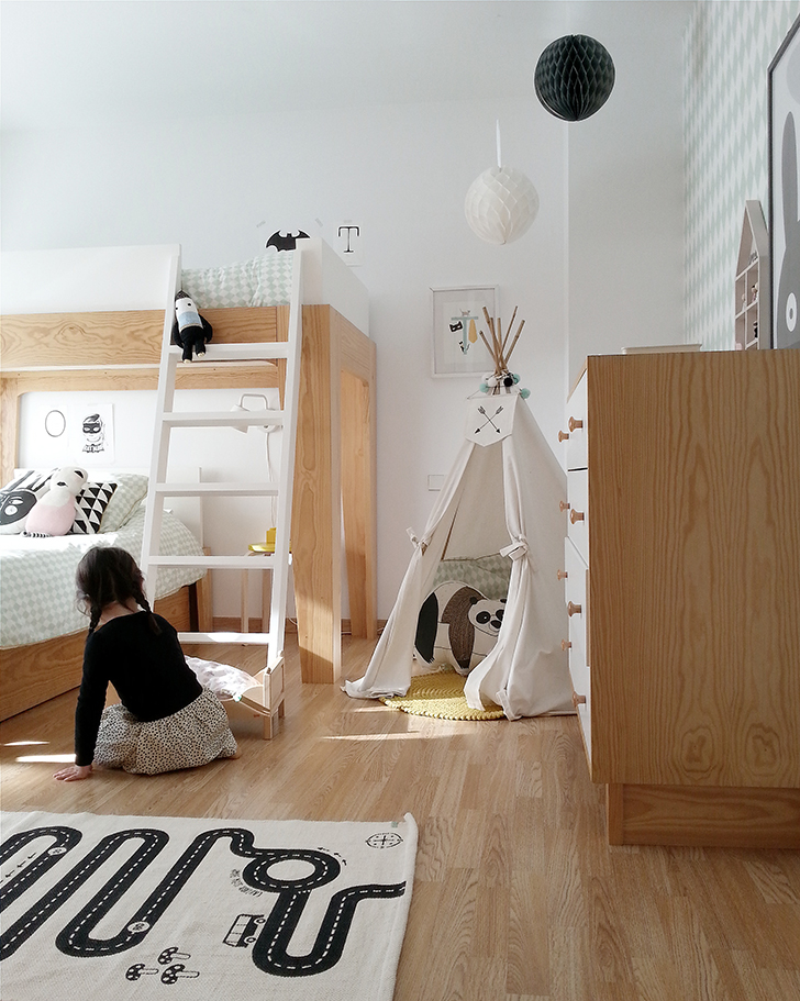 2 Amazing Scandinavian-Style Kids Rooms