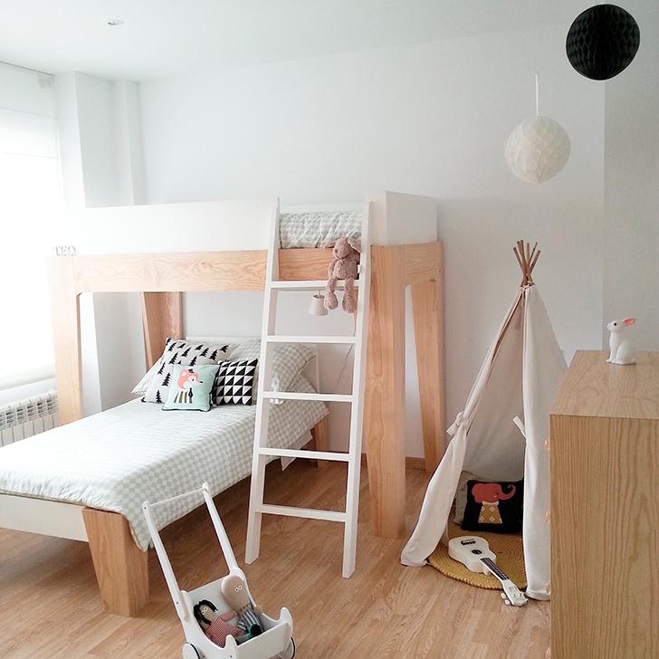 Scandinavian Style Kids Room