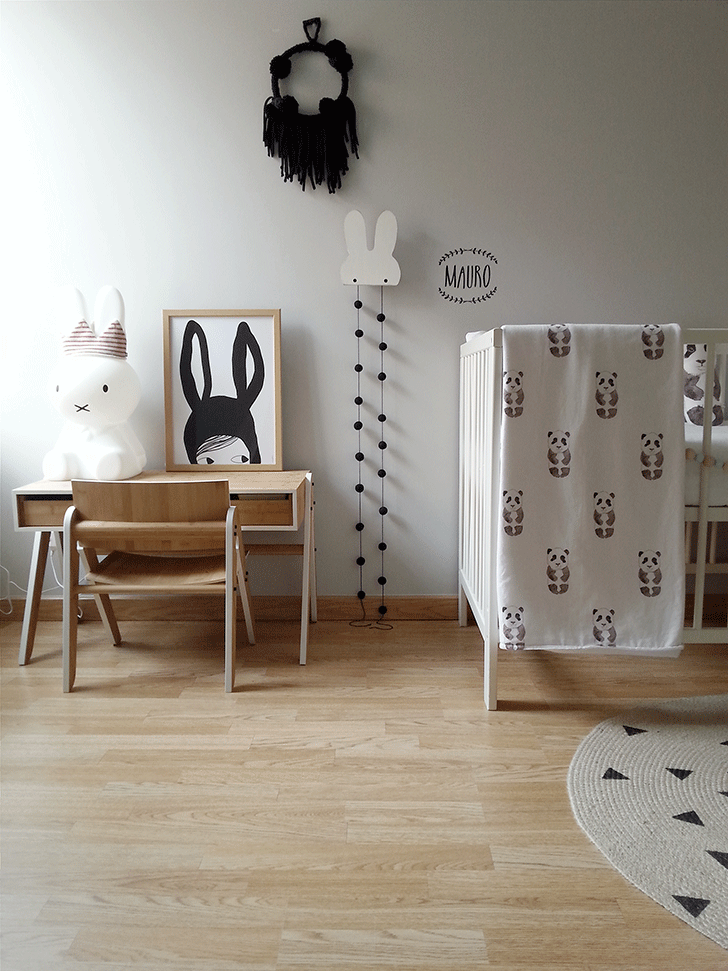 2 Amazing Scandinavian Style Kids Rooms Petit Small: scandinavian baby nursery
