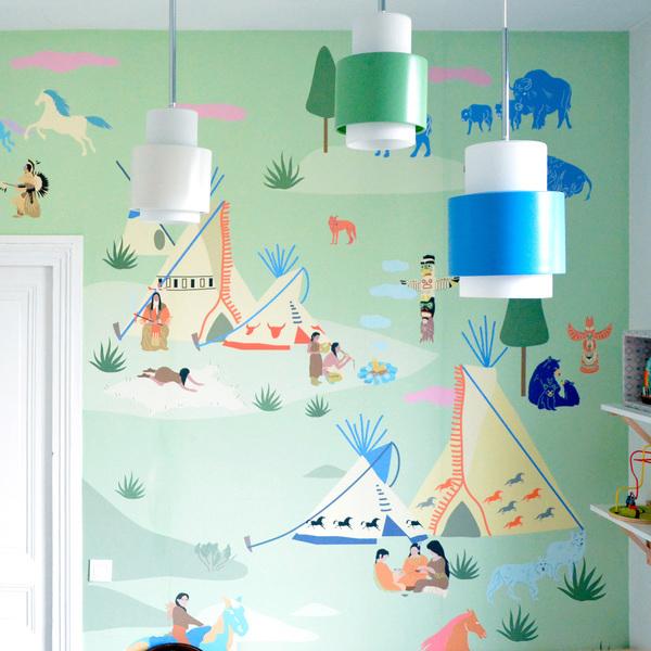 New in wallpaper by little cabari petit small - Modelos de papel pintado ...