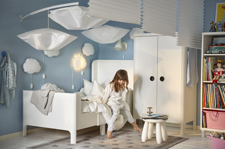 Children and toddler 39 s beds in ikea 39 s 2017 catalogue - Habitaciones infantiles ikea ...