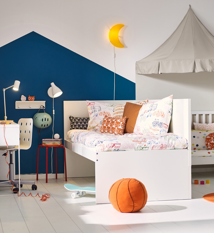 Children and Toddler's Beds in IKEA's 2017 Catalogue