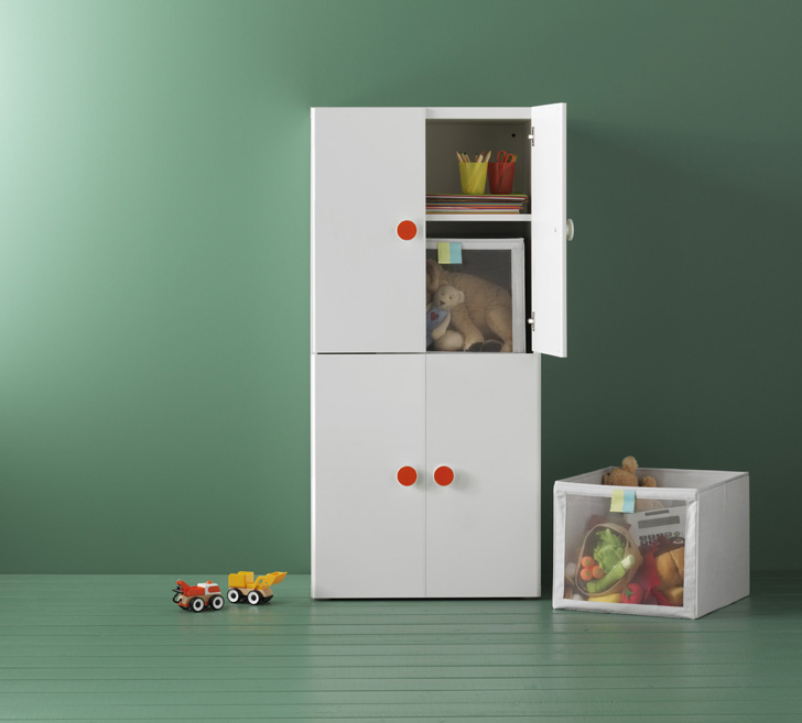 Ikea's Storage Solutions for Kids