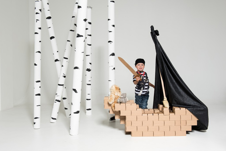 Cardboard Blocks to Create Everything!