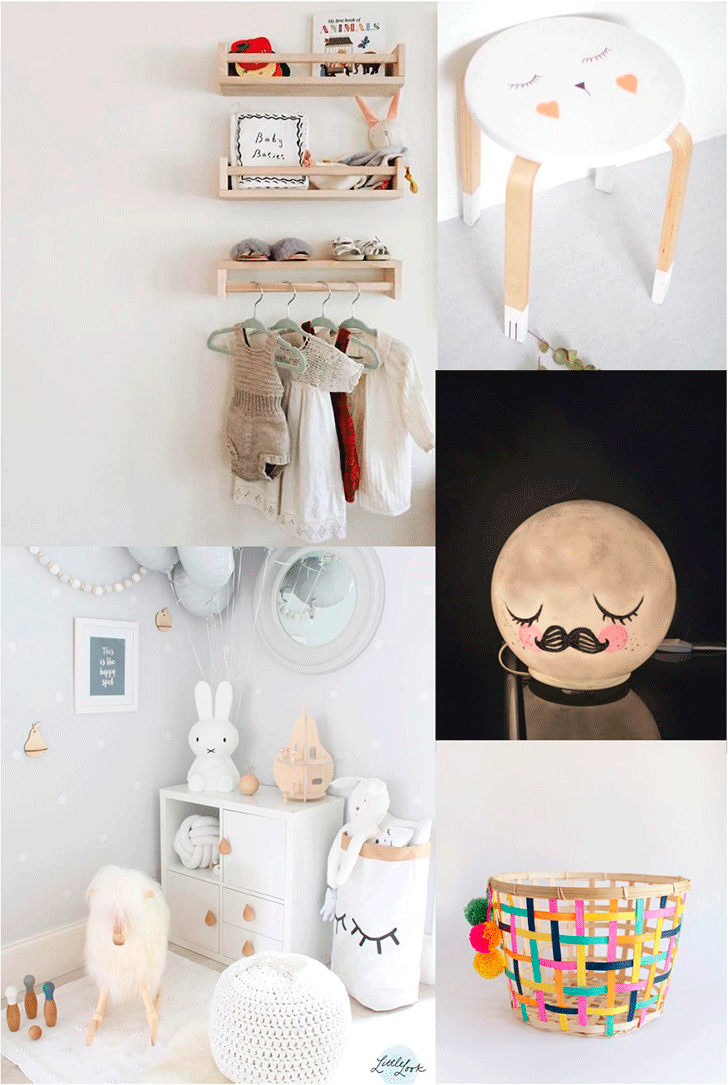 5 of the Cutest (and Easiest) Ikea Hacks for a Kids Room