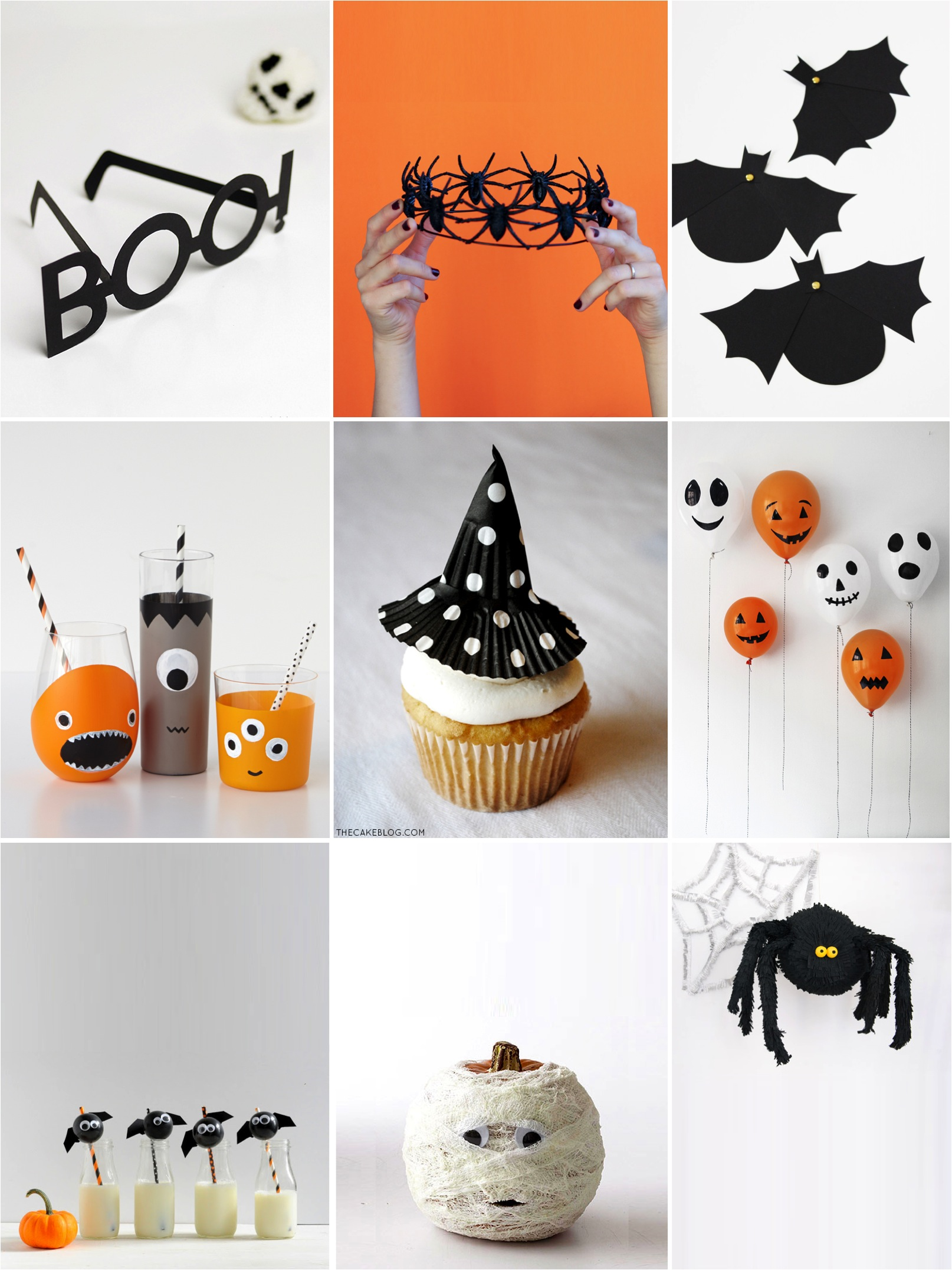 9 Easy Party Decorations to Make this Halloween - Petit & Small