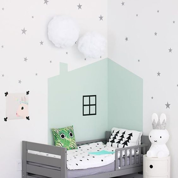 6 Ideas for Painting Children's Rooms