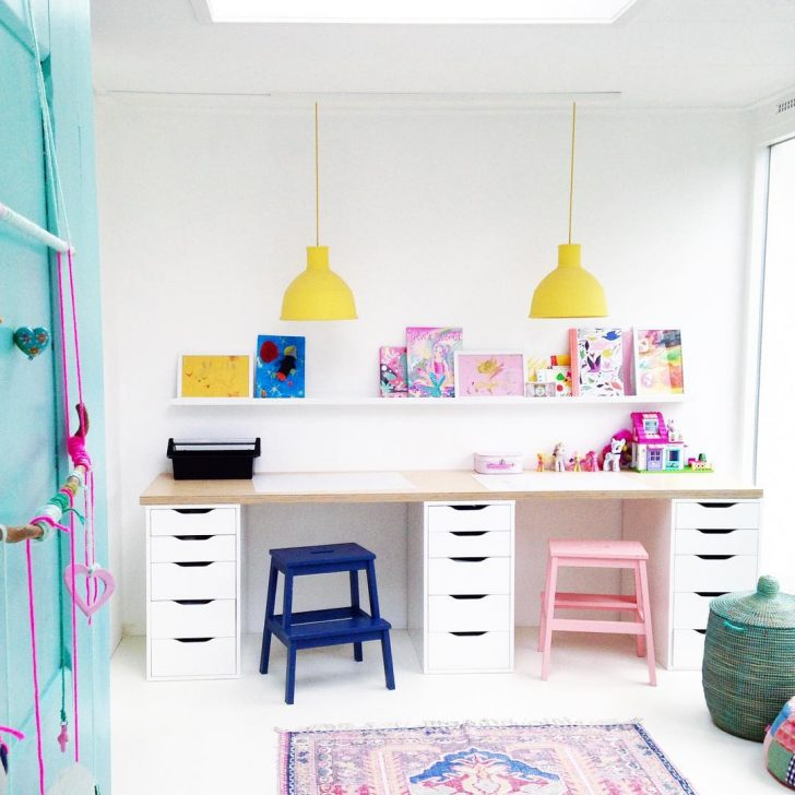 Play And Study Room: 12 Inspiring Study Areas For Kids