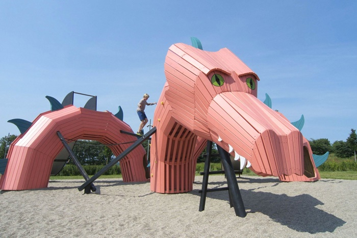 Amazing Dreamy Playgrounds to Wake Up Kids' Imagination