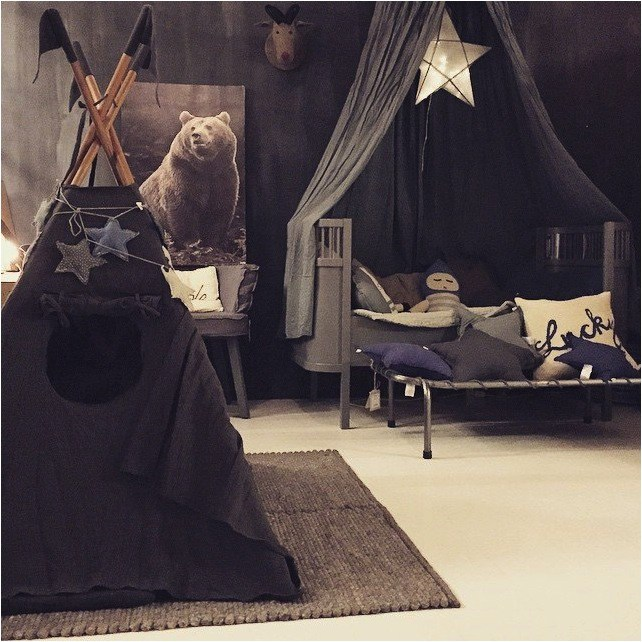 Dark, moody and magical kids rooms - Petit & Small