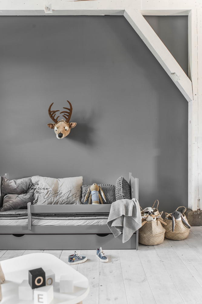 Gorgeous Gray Rooms (that Will Calm Any Kid At Bedtime