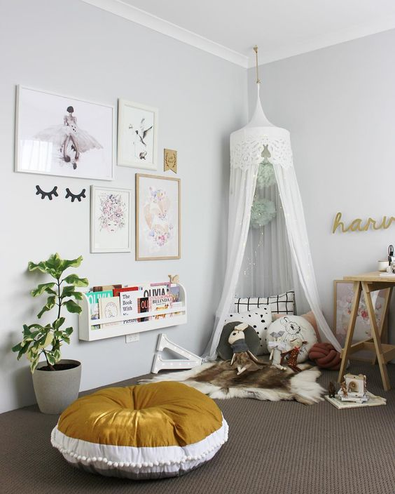 How To Create Special Kids Spaces With Hanging Canopies