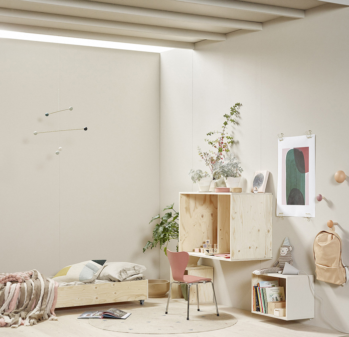 An Incredibly Beautiful Kids Room with Soft Tones