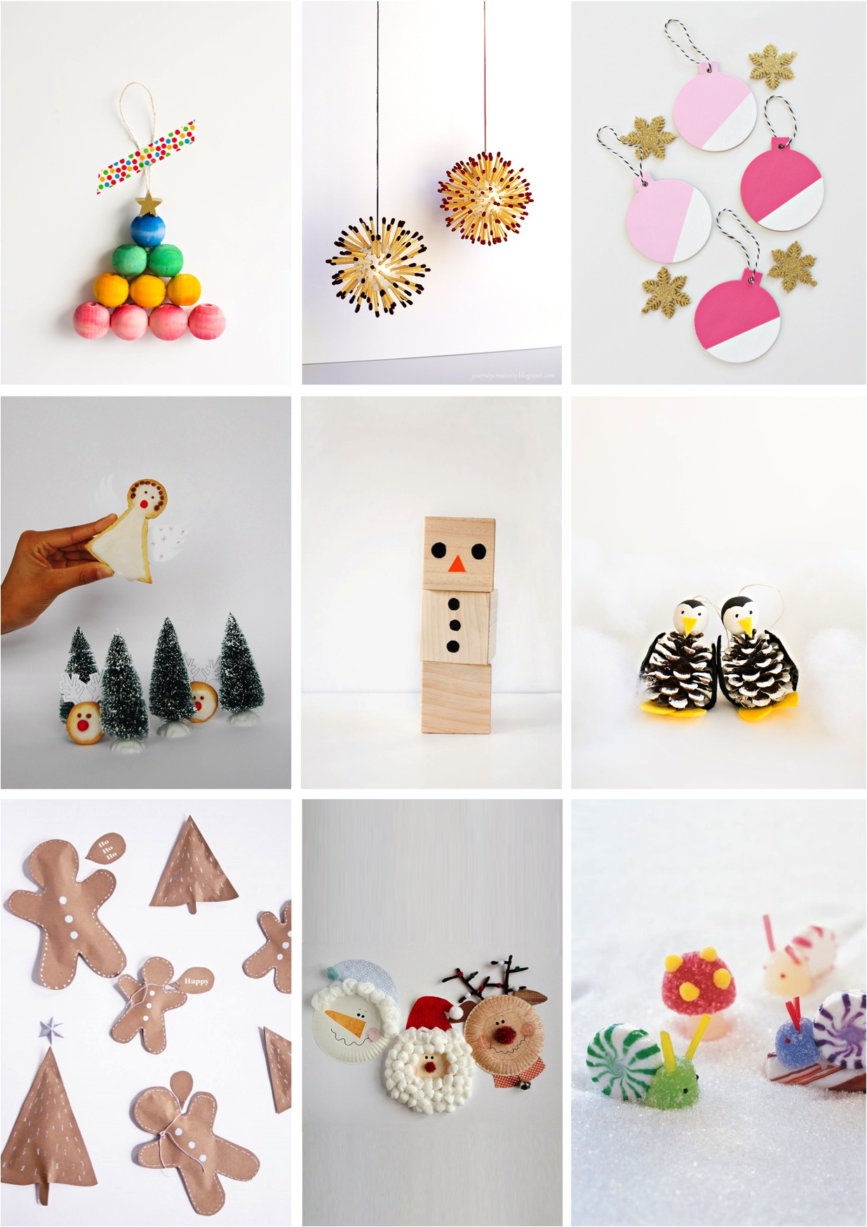 9 Adorable Christmas Crafts for Kids