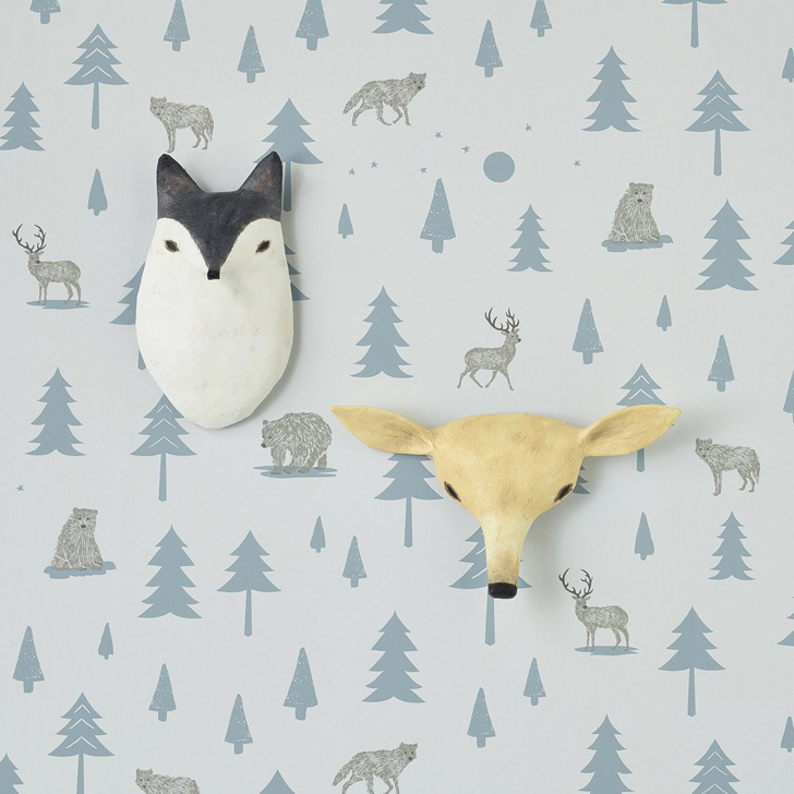 Papier-Mâché Animal Heads by Hibou Home