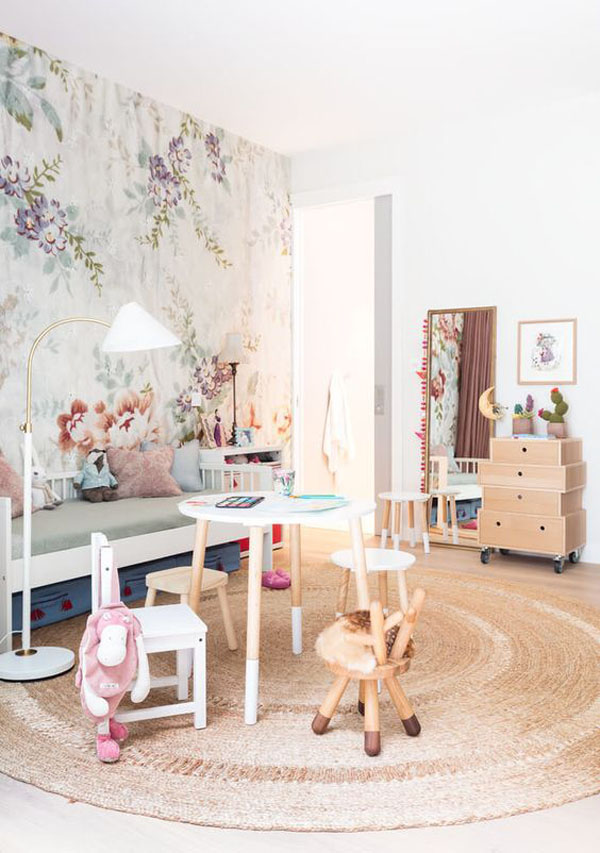 When Wallpapers Add an Original Touch to Your Kids' Room