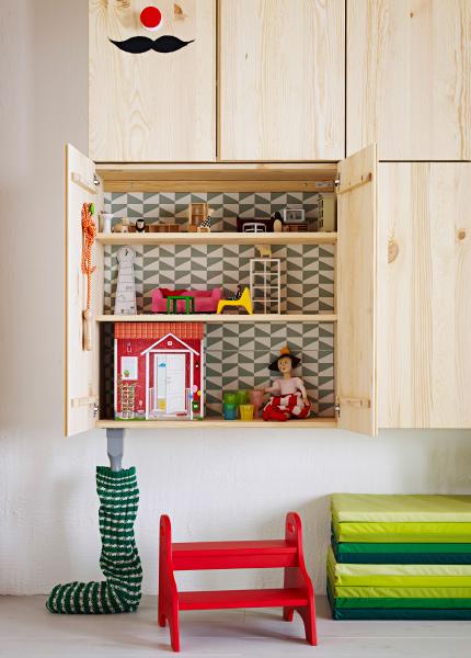 une maison de poupée