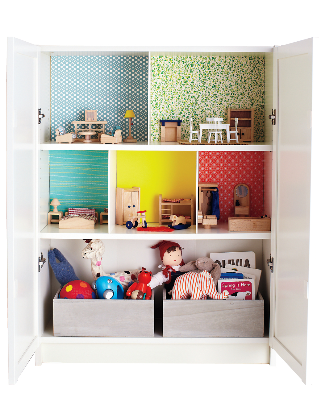 Ikea Hack Dollshouse Top Image