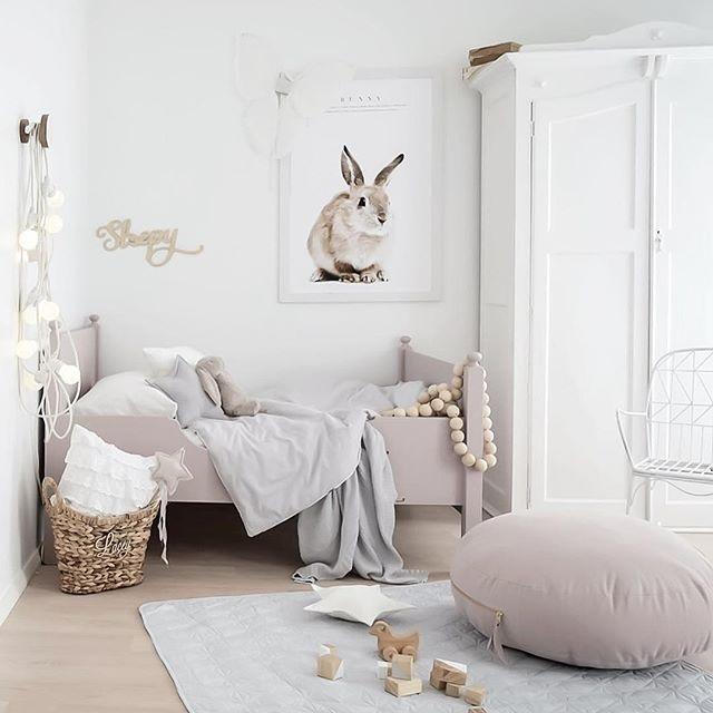 Scandinavian Style Kids Room: Instagram Inspiration: Scandinavian Kids' Room