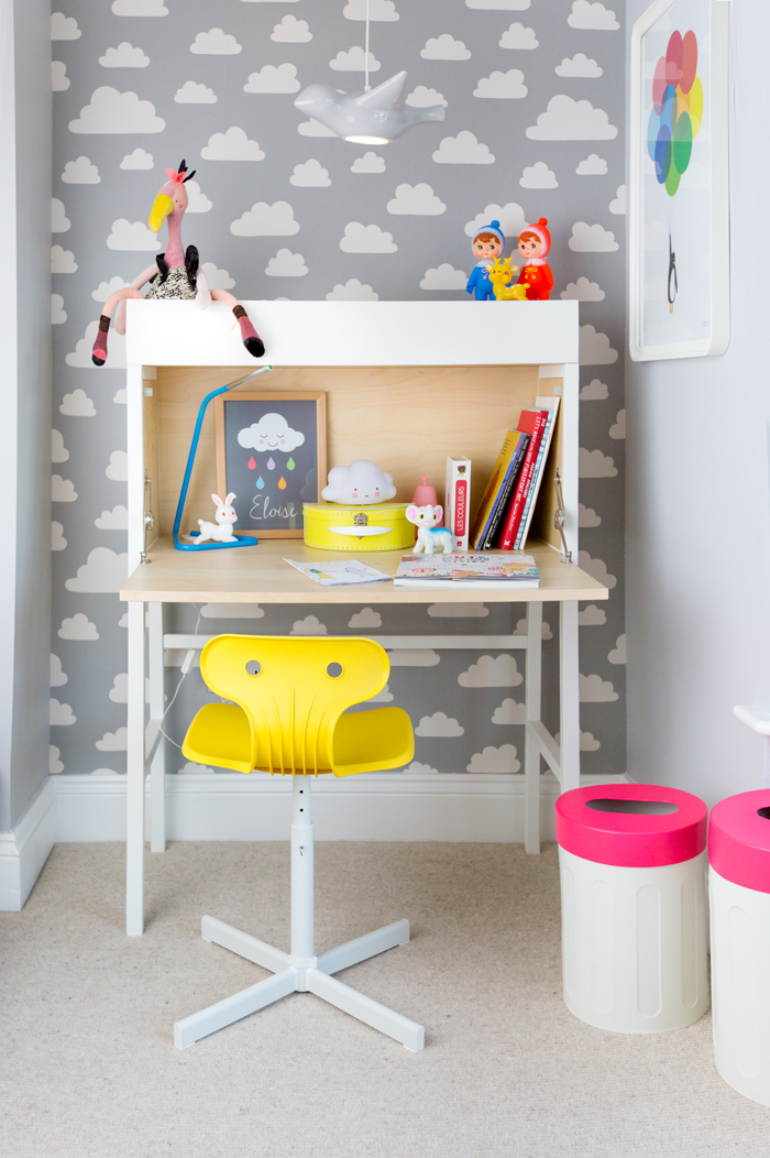 Grey and White, Neon and Bright: Eloise's Room + Discount Code