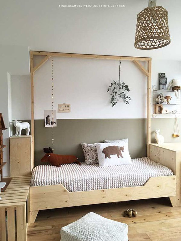 7 Amazing Kids' Wooden Beds