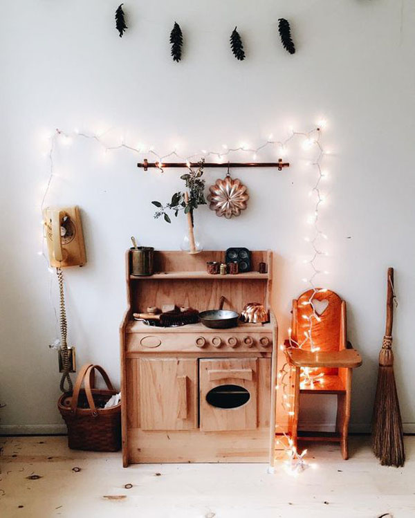 Toy Kitchens to Play and Decorate