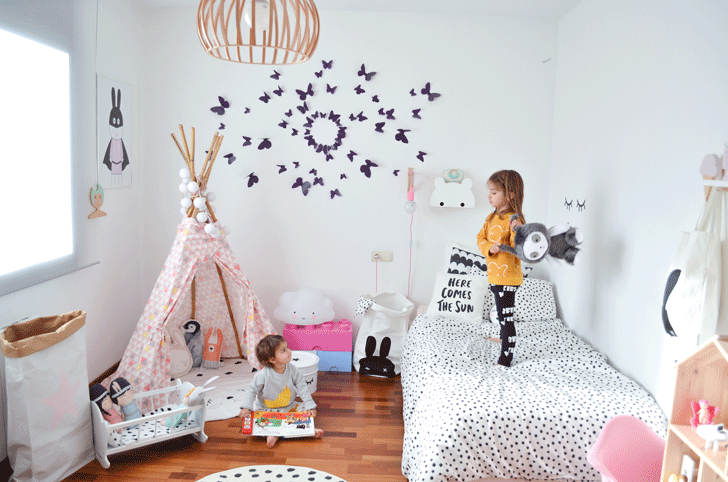 Room Tour Two Amazing Girls Rooms In Nordic Style