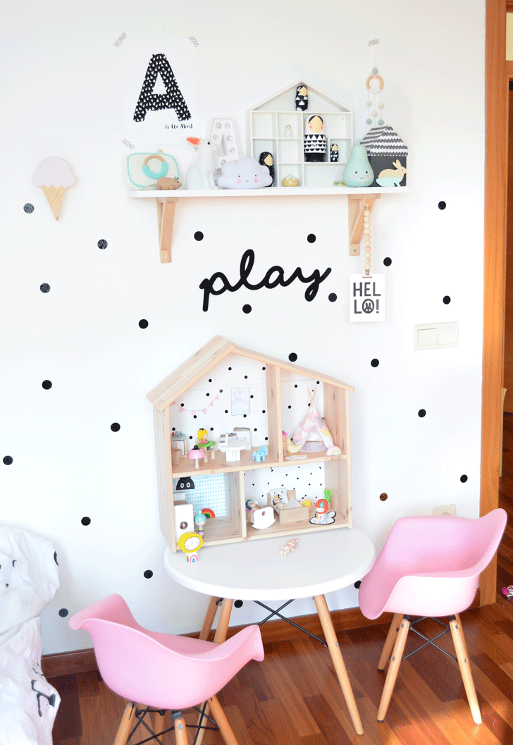 Room tour two amazing girl 39 s rooms in nordic style for Kinderzimmer play 01
