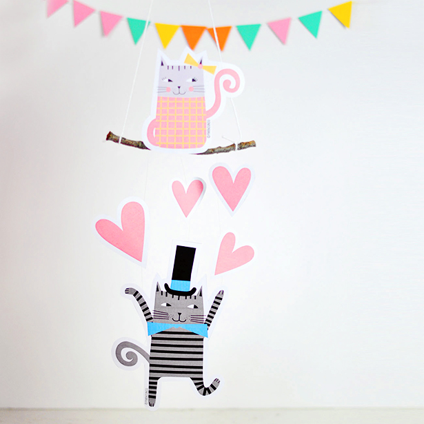 valentine-mobile-free-printable-cats