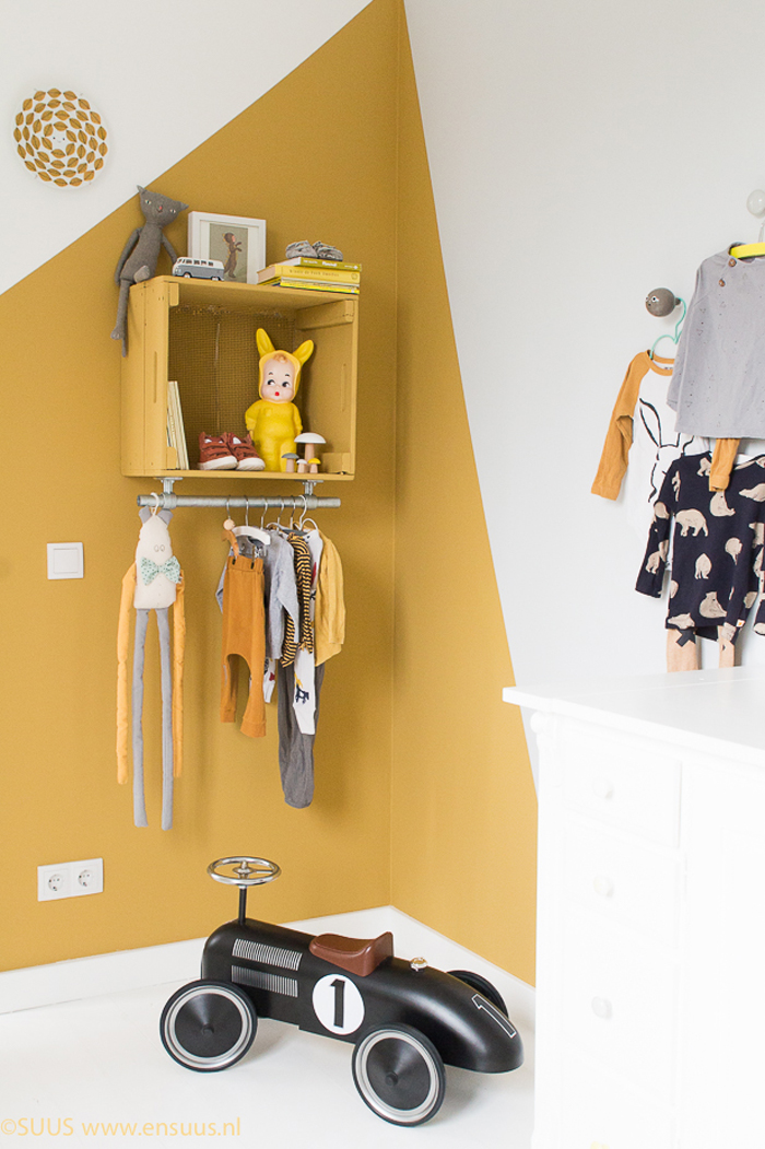 Ocre Accent In Kids Room