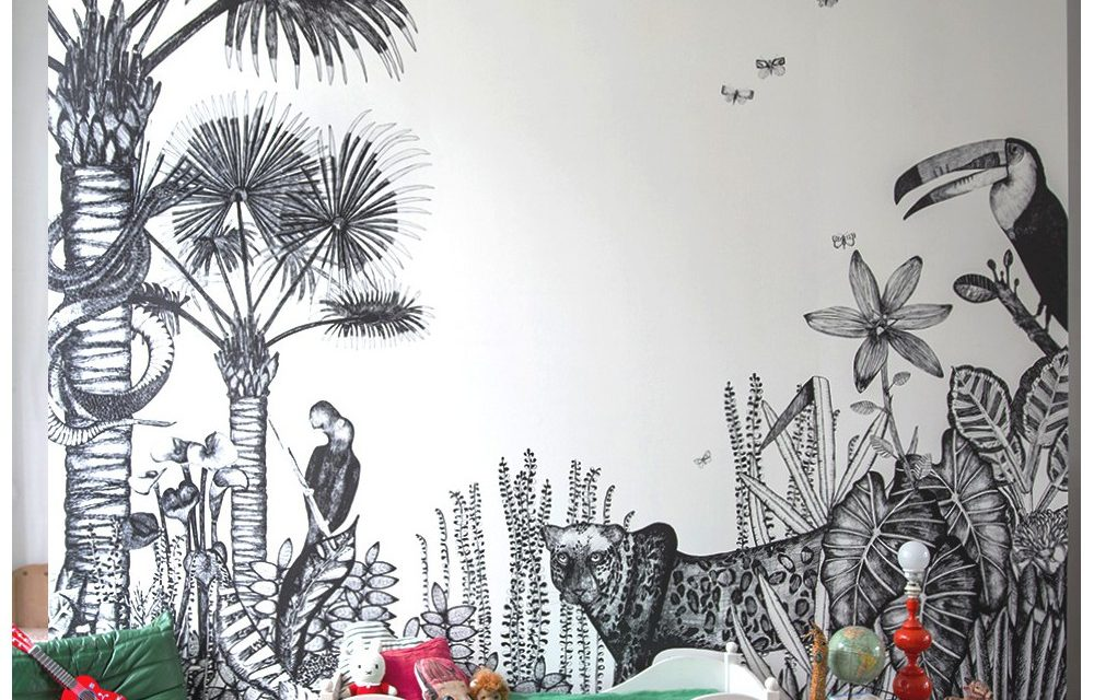Kids' Rooms with Tropical Inspiration
