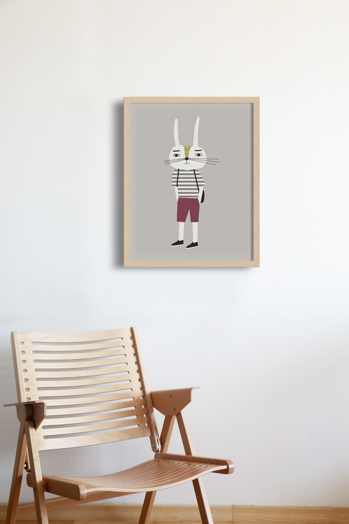 Little Otja, the Coolest Wall Art for your Kids Room - Petit & Small
